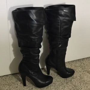Jessica Simpson Anne over the knee boots 8 1/2